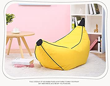 Amazon.com: Mama Baba niños puf puf sofá, silla sin relleno ...