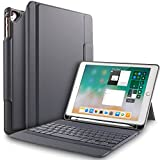 IVSO New iPad 9.7 inch Case with Keyboard -Lightweight One-Piece Wireless Keyboard St