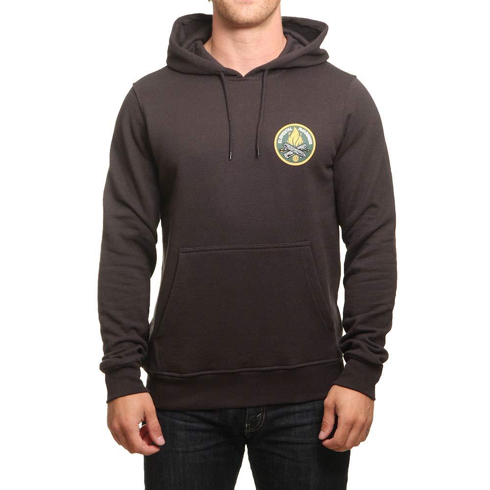 Element Herren EA LOGO PRINTED FLEECE Hoodie Sweatshirt