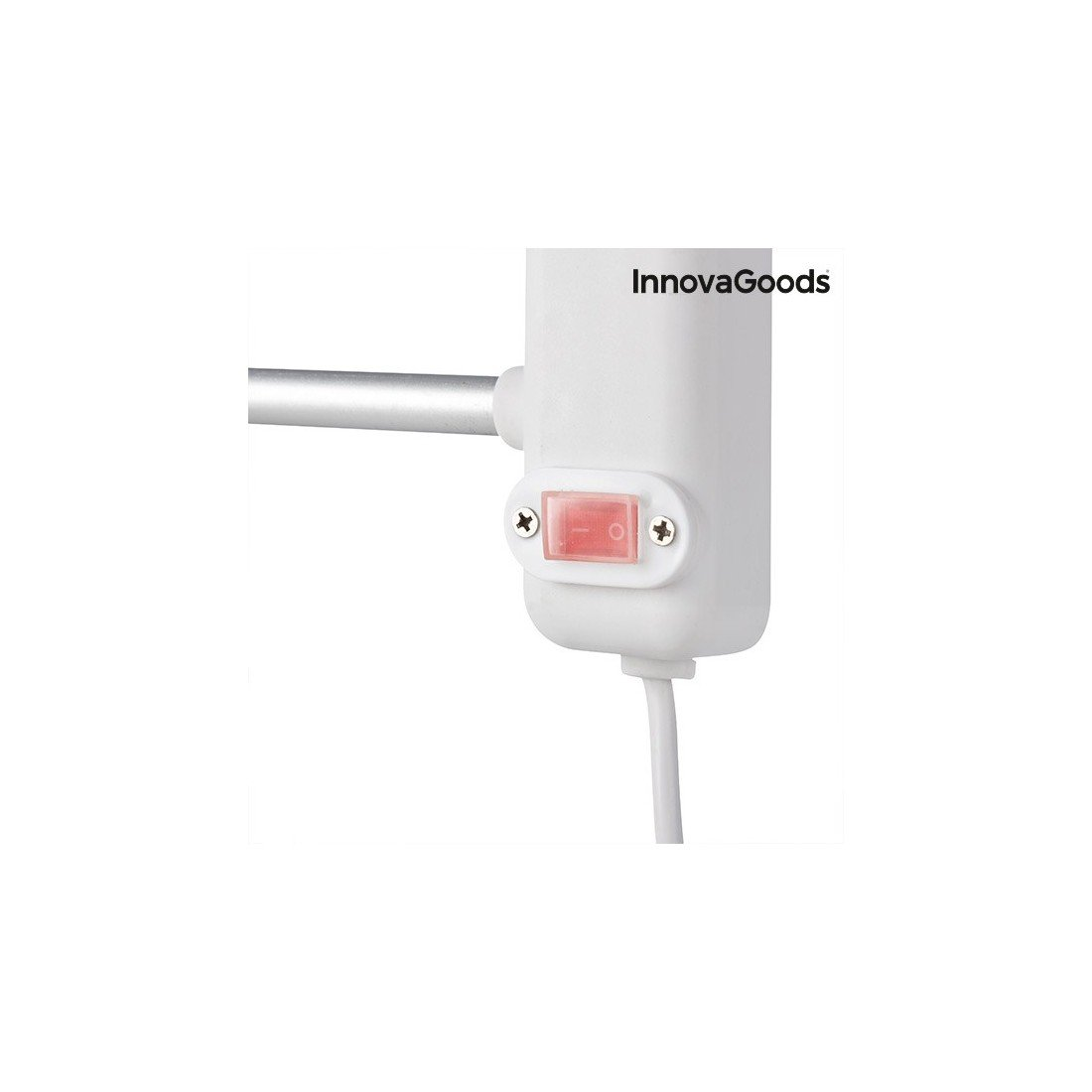 InnovaGoods Handtuchhalter Wand 60/x 43/x 4/cm wei/ß//grau Aluminium und ABS