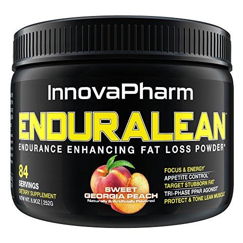 Innovapharm Enduralean Endurance Enhancing Fat Loss Powder SWEET GEORGIA PEACH
