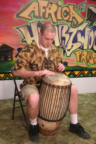 Classic 11'' Hand-carved Quinto Conga - African Drum by Africa Heartwood Project