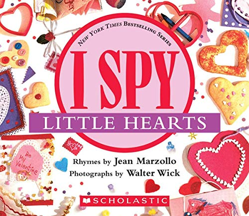 I Spy Little Hearts: A Book of Picture Riddles