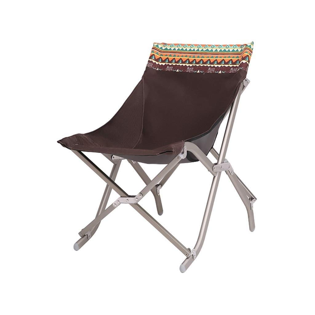 Folding Camping Chair Portable Aluminum Rest Chair