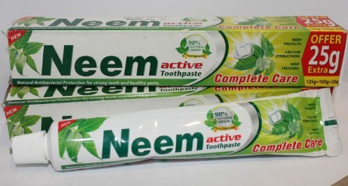 (Neem Active Toothpaste 125 Gm (Pack of 2) )