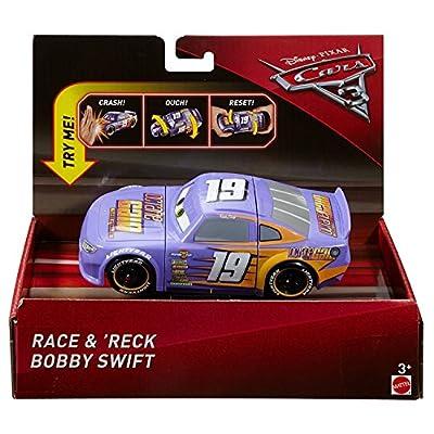 Disney Pixar Cars 3 Race & 'Reck Bobby Swift Vehicle: Toys & Games