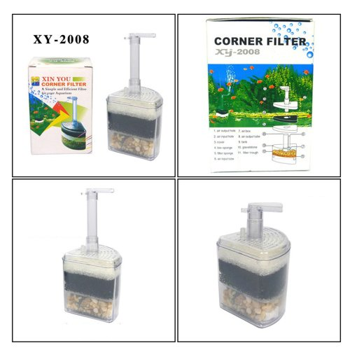 Corner-Filter-Aquarium-Fish-Tank-Internal-Air-Driven-Filter-with-Media-XY-2008
