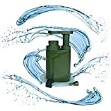 KEPEAK Outdoor Water Filter Straw Portable Purifier Survival Emergency Gear Kit for Camping, Hiking, Backpacking, and Prepping