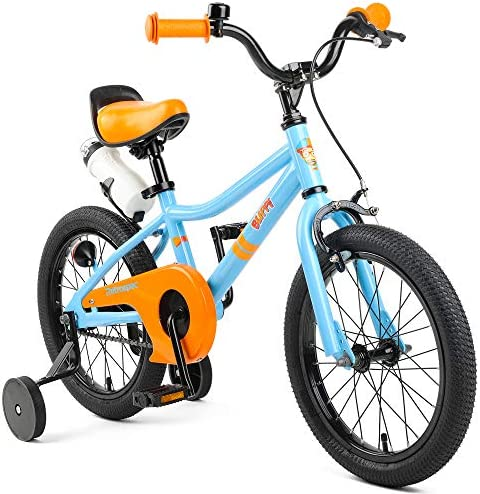 Cleary Bikes 16 Inch Single Speed Bikes for Kids, Lightweight, Hedgehog, Multiple Colors