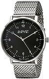 August Steiner Men's AS8091SSB Analog Display Swiss Quartz Silver Watch