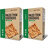 Paleo Thin USDA Organic Crackers (Low Carb -Gluten Free) (Value Pack 2 Boxes) (Value Pack)