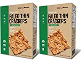Cheap Paleo Thin USDA Organic Crackers (Low Carb -Gluten Free) (Value Pack 2 Boxes) (Value Pack)