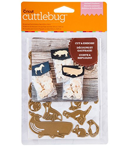 Cuttlebug Cut & Emboss ~ Animal Crackers ()