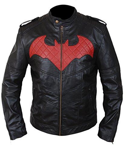 Batman Beyond Costume For Kids (F&H Boy's Batman Beyond Arkham Knight Jacket XS Black)