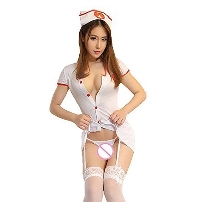 Amazon.com: Erotic Sexy Disfraces para mujer Sexy disfraz de ...