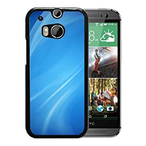New Beautiful Custom Designed Cover Case For HTC ONE M8 With White Lines Phone Case