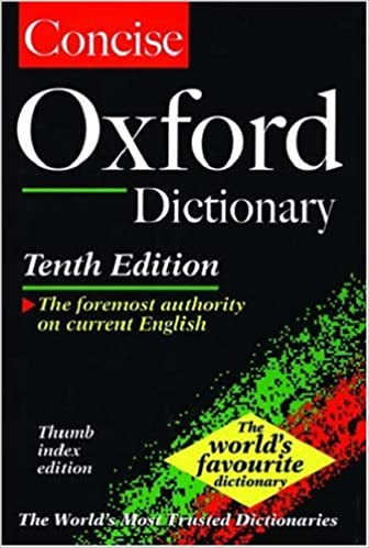 The Concise Oxford English Dictionary: Thumb Indexed