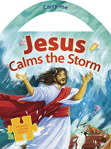 Jesus Calms the Storm (Carry Me Puzzle Books) -
