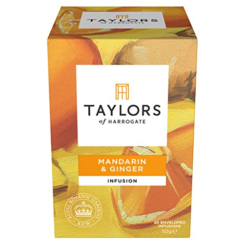 Taylors of Harrogate Mandarin & Ginger Infusion, 20 Teabags - Ginger Infusion