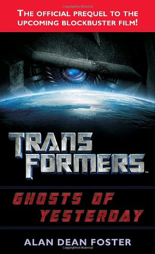 book cover of Transformers: Ghosts of Yesterday