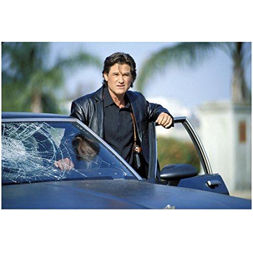 Eldon Tray (Dark Blue Kurt Russell as Eldon getting out of car 8 x 10 Inch Photo)