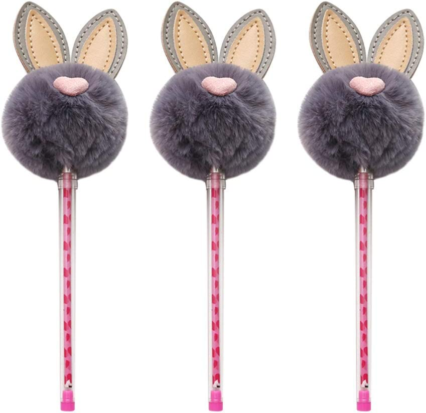 Rabbit Lollipop Pen Fine Writing Point Gel Smooth