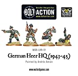 1943-45 German Heer Hq Miniatures