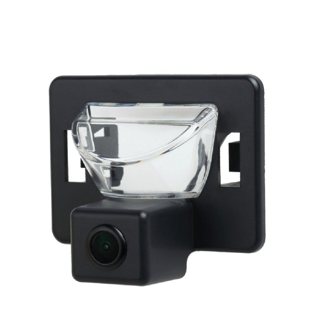 for Mazda5 Mazda 5 2006-2010 M5 NTSC Misayaee Rear View Back Up Reverse Parking Camera in License Plate Lighting Night Version
