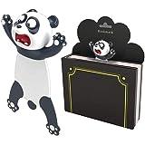 Lindos marcadores de livro, marcadores de página engraçados 3D para leitura de desenho animado para estudantes, escritório, l