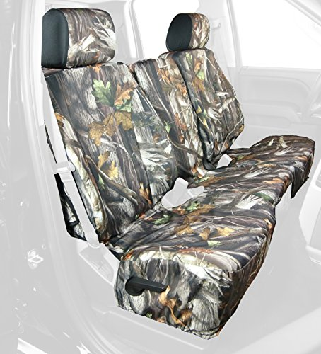 Saddleman Front Custom Fit Seat Cover for Select Chevrolet Silverado 1500 Models - Camo Fabric (Camouflage) (S 289770-30)