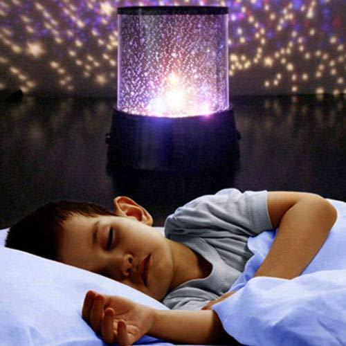 Projection Lamp Star LED Light coersd Celestial Star Cosmos Night Lamp Night Lights Projection Projector Starry Sky ()