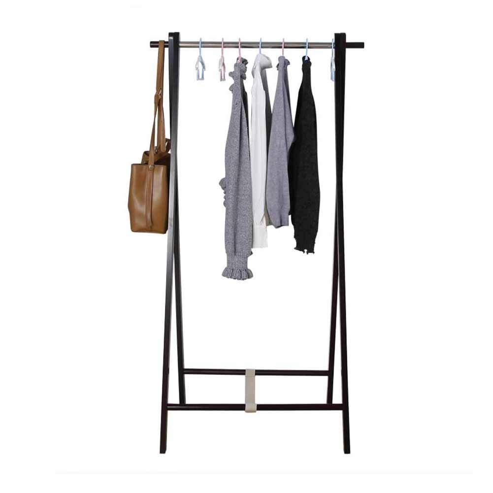 Cross Household Coat Rack Coat Rack Solid Wood Simple Modern Bedroom Floor-Standing Fashion Multifunction Stability (Size   Cross)