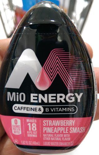 Mio Energy strawberry pineapple smash Caffeine & B vitamin 1.62 fl. oz