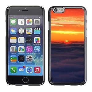 TopCaseStore / la caja del caucho duro de la cubierta de protección de la piel - Sunset Beautiful Nature 91 - Apple iPhone 6