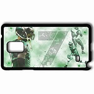 Personalized Samsung Note 4 Cell phone Case/Cover Skin 14308 michael vick2 by jay hood d4nkx87 Black hjbrhga1544