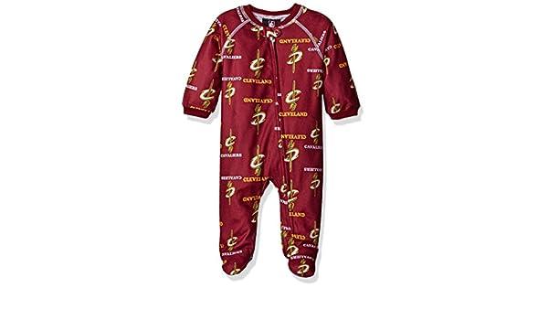 Recién nacido NBA Cavaliers pijamas All Over Print con cremallera mono - K N8 2186Y CA, Burgundy: Amazon.es: Deportes y aire libre
