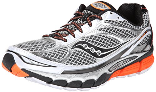Saucony fluorosilicatos 7 White color naranja White / Black / Orange