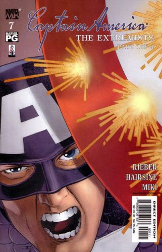 "Captain America #7 Comic ""The Extremists Part 1"" (Volume 4, Marvel 2003) pdf"