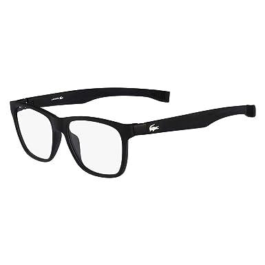30c172178 LACOSTE L2713 Eyeglasses 001 Satin Black 52-16-140: Amazon.co.uk: Clothing