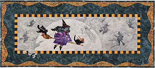 McKenna Ryan~Once in a Boo Moon~Witch is Which~Halloween~Pre-Cut Laser Applique Kit w/Fabric~Pattern