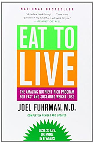 Eat to Live by Joel Fuhrman. A book about diet and environment.