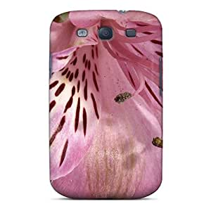 Slim Fit Tpu Protector Shock Absorbent Bumper Lily's Closeup Case For Galaxy S3