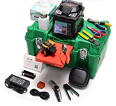 KOMSHINE BRAND NEW GX36 Fusion Splicer Kit w/ Cleaver + QX50-MS MM 850/1310/1550nm OTDR+Power Meter + Light Source+Visual Fault Locator