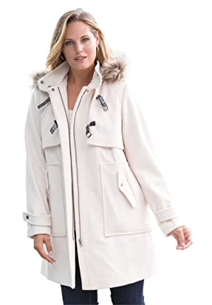 Image Unavailable. Image not available for. Color  Jessica London Women s  Plus Size Hooded ... 590a41d8c