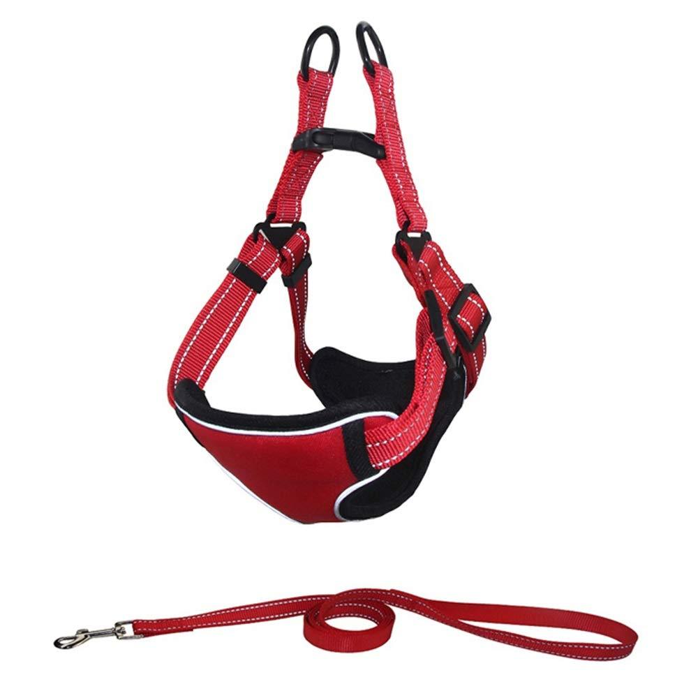 1003L Dog Leash, Vest Pet Chest Strap Dog Leash Large  Medium  Small Dog Leash Dog Vest Chain (color   1005M)