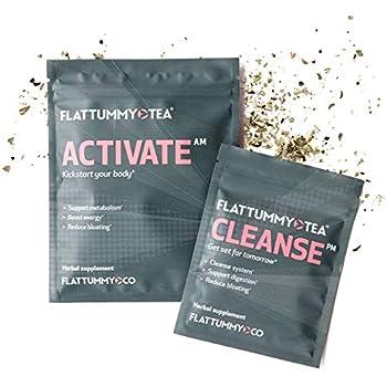 Amazon.com: Flat Tummy Tea   All-Natural Detox Tea to Help
