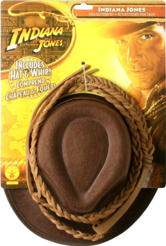 Children's Indiana Jones Hat and Whip Set, One (Cheap Indiana Jones Costumes)