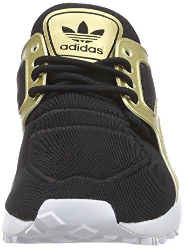 adidas Racer Lite W - Zapatillas de running para mujer Negro / Dorado / Blanco