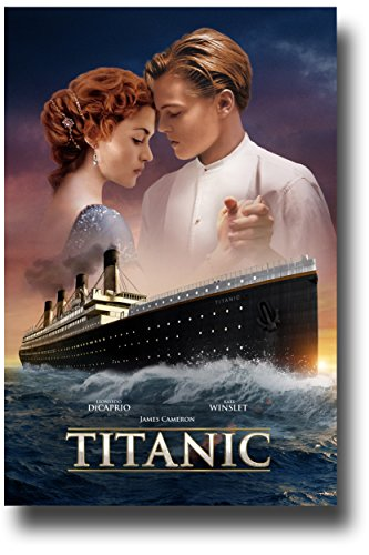 Titanic Poster - Movie Promo 11 x 17 inches Leonardo DiCapri