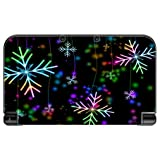 Neon Snowflakes Snowflake New 3DS XL 2015 Vinyl Decal Sticker Skin by Moonlight Printing